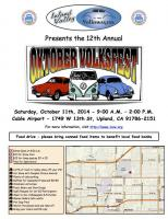 Inland Valley Volkswagens -12th Annual Oktober Volksfest