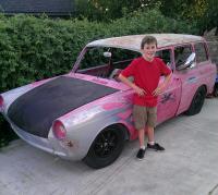my son's first car
