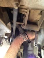broken exhaust