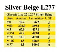 L277 Silver Beige