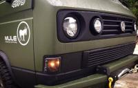 Pilot Head lamps in SA Grill