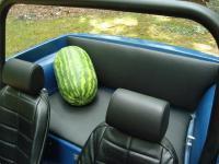 Manx rear seat