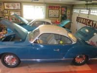 a pair of '66 sea blue ghia coupes