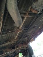 1978 Bus Underside Before