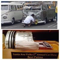 Santa Ana Volks car show