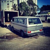 1989 VW Vanagon enclosed transport