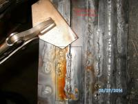 butt weld 19 gage  with tig :Big gap