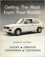getting the most out of your rabbit  by richard g van treuren