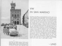 European Volkswagen Rallye Adria San Marino 1954