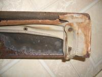 Original sunroof rivets