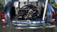Auto-stick trans conversion, Engine upgrade, Ghia 1971