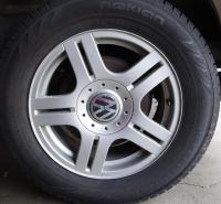 VW wheel with Nokian