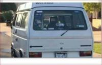 Vanagon driver wanted for questioning
