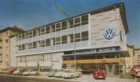 VW 1500s in the showroom