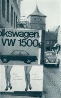 VW 1500 poster, Beetle, & legs