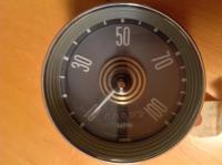 '64 Large Bronze Speedometer