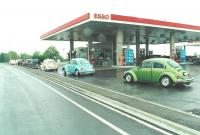 1977 Beetle during drive to Michigan- May, 2000