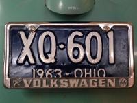 Cool vintage plate frame