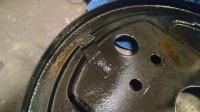 Brake adjust tang