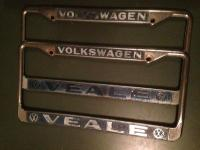 Santa Rosa Veale plate frames