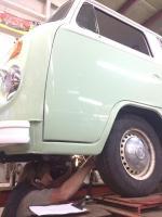1978 VW Bay Window Bus restoration