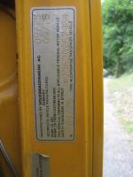 VW Bus Door Jamb Sticker