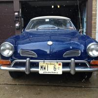 70 Ghia before and after collision repairs
