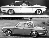 Karmann Ghia Type 34 vs. BMW2000CS