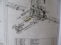 DRLA idle mixture spring and washer