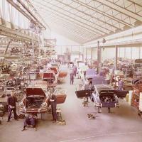 Porsche 912 factory pic