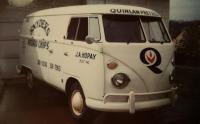 1960's VW Panel Work Van Delivering Potato Chips and Pretzels to the Area Pubs