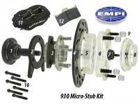 4x4 micro stub steering knuckle trailing arm