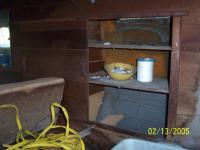 possible Montgomery Ward camper interior cabinet