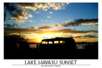 Lake Havasu Sunset Poster