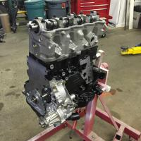 TDI engine out, new TDI engine awaiting install