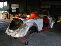 1967 Convertible before paint