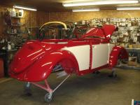 1967 Convertible after paint
