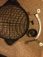 Timing Scale, Blower Guard, and Thermostat Pulley