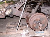 Threaded rod Spring plate tool