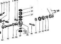 Link pin parts