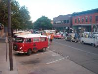 VW's in Old Town.