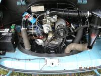 ORIGINAL FACTORY MINT ENGINE BAY 1968
