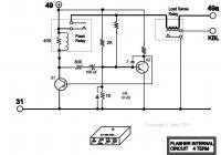Flasher Circuit Diagram