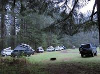 "Silver Falls State park ""group rv"" camp site, 2011 Samba campout"