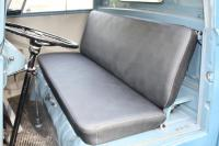correct black seat upholstery made by VolksFab