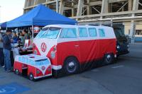 Swap meet photos - Bus tent