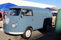Dove Blue Panel van