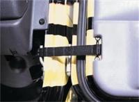 Option vanagon door limiting strap