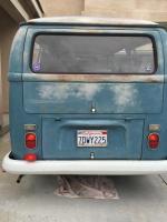 1970 Neptune Blue Kombi
