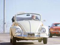 Jack Nicholson and his 1967 VW Convertible